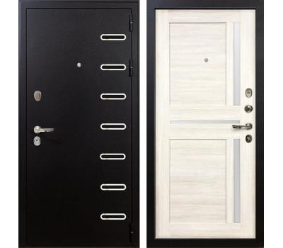 Входная металлическая дверь Лекс Витязь Баджио Дуб беленый (панель №47)