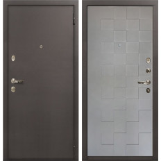 Входная дверь Лекс 1А Графит софт Квадро (панель №72)