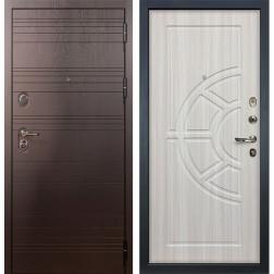 Входная стальная дверь Лекс Легион 3К Сандал белый (панель №44)